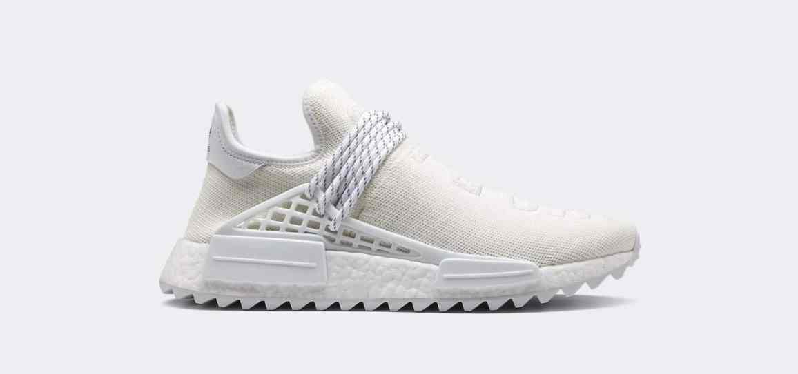 Pharrel x adidas NMD Hu Holi Blank Canvas