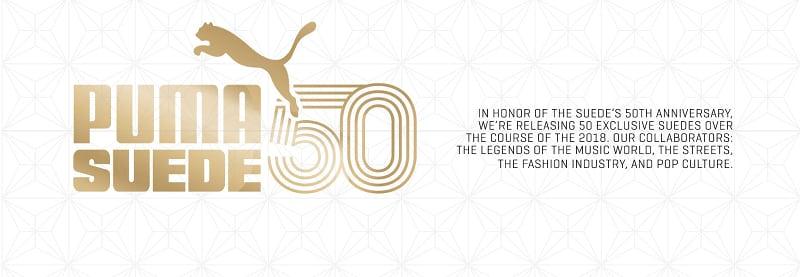 PUMA Suede 50th Anniversary