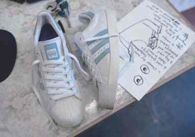 """Krooked x adidas Superstar Vulc """"Gonz and Roses"""""""
