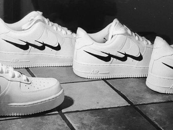 Nike Air Force 1 Swedish House Mafia by Virgil Abloh