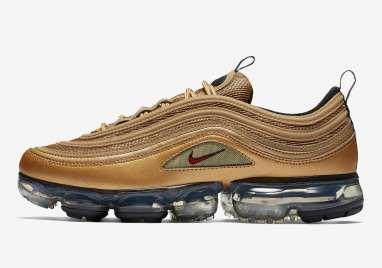 Nike Air VaporMax 97 Metallic Gold