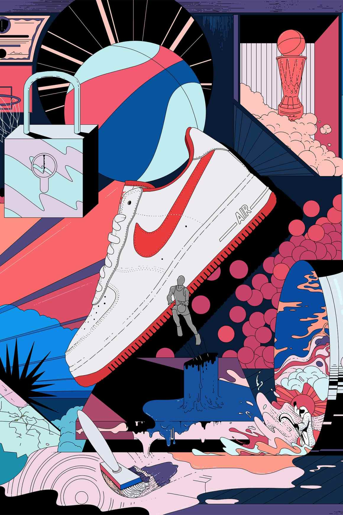 "Nike Air Force 1 Low ""Fo, Fi, Fo"" - Art Of A Champion"