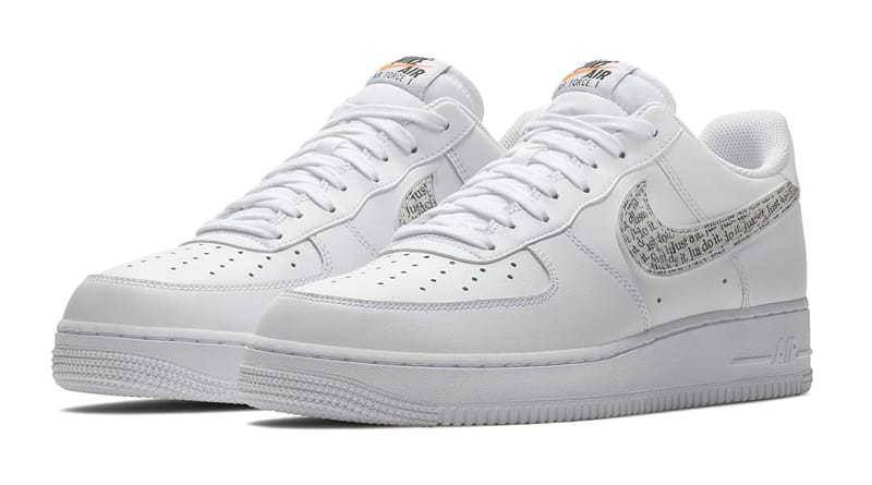 air force 1 just do it blanche
