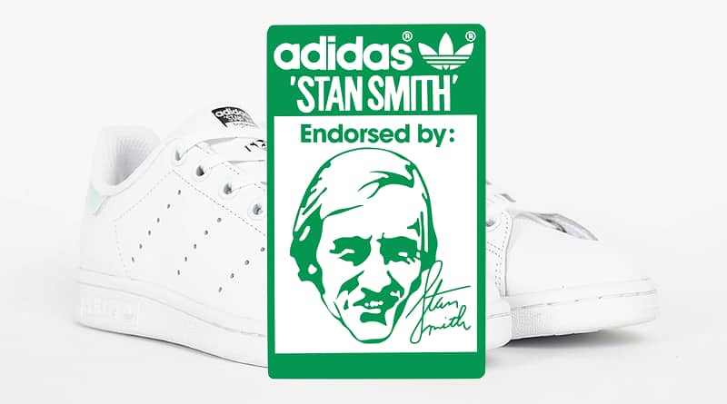 Endorsed by Stan Smith