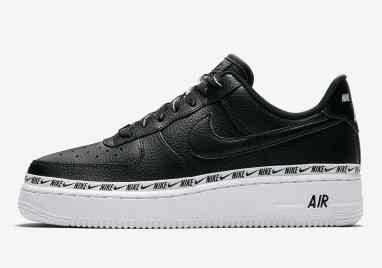 Nike Air Force 1 Low Wmn ''Ribbon'' Pack - Noir