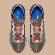 UNDERCOVER X Nike React Element 87''Green Mist''