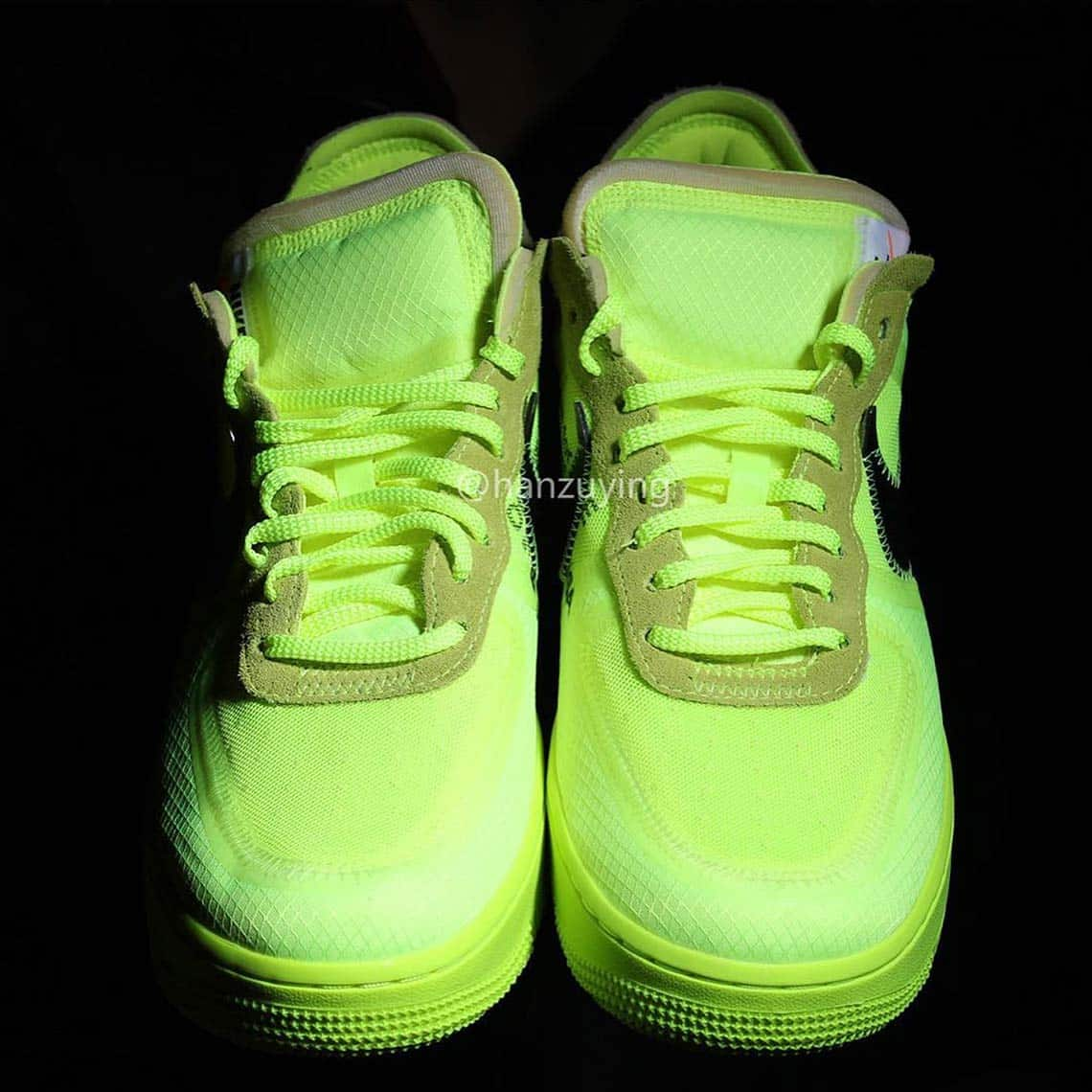 Off-White x Nike Air Force 1 ''Volt''