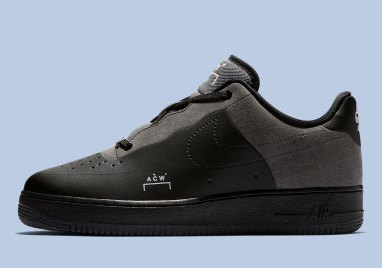 A-COLD-WALL* x Nike Air Force 1 Low Black