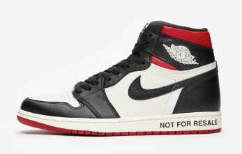 Air Jordan 1 Retro High OG ''Not For Resale'' ''Varsity Red''