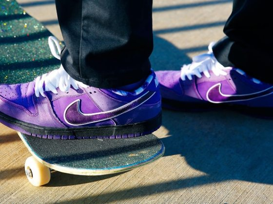 CONCEPTS x Nike SB Dunk ''Purple Lobster''
