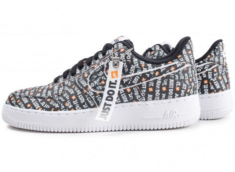 Nike Air Force 1 Just Do It Premium noire