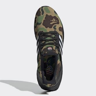 BAPE x adidas Ultraboost ''Camo'' Green