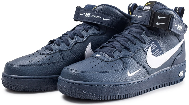 Utility ''obsidian'' Lv8 Mid '07 Force 1 Sneaker Nike Air Style PwOk8n0X