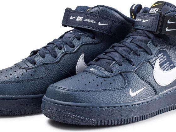 Nike Air Force 1 Mid '07 LV8 Utility ''Obsidian''