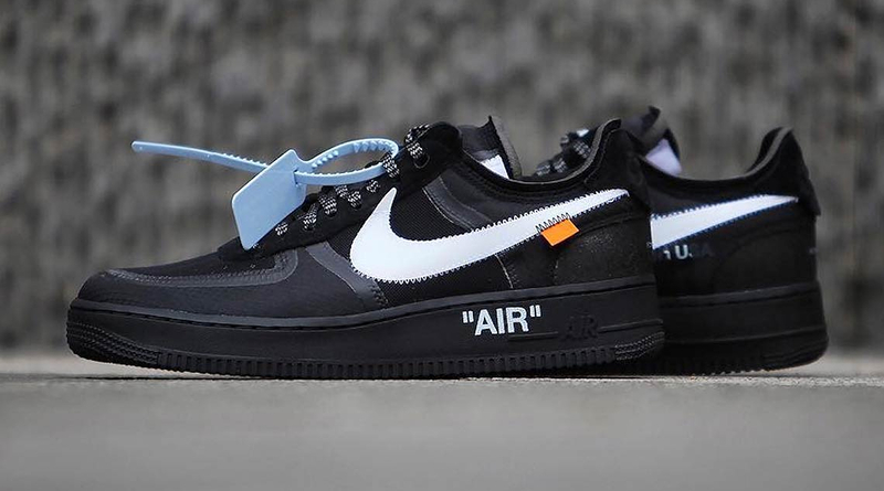 Off-White x Nike Air Force 1 Low ''Black''