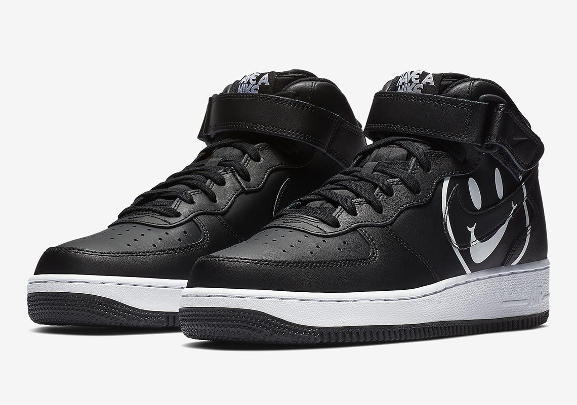 Nike Air Force 1 Mid - AO2444-001