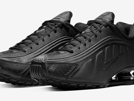 Nike Show R4 ''Triple Black''