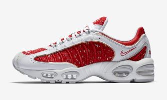SUPREME x Nike Air Max Tailwind IV - White/Red