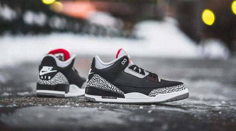 Air Jordan 3 OG ''Black Cement''