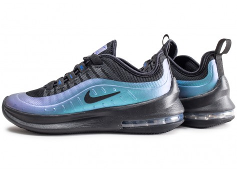 Nike Air Max Axis noire et bleue junior