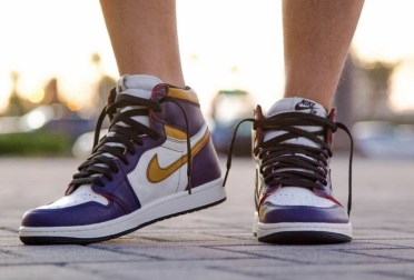 Nike SB x Air Jordan 1 ''Lakers''