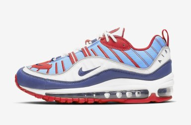 Nike Air Max 98 ''Captain America''