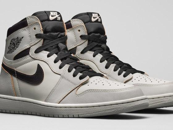 Nike SB x Air Jordan 1 Retro High OG ''Light Bone''
