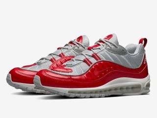 SUPREME x Nike Air Max 98 ''Red''