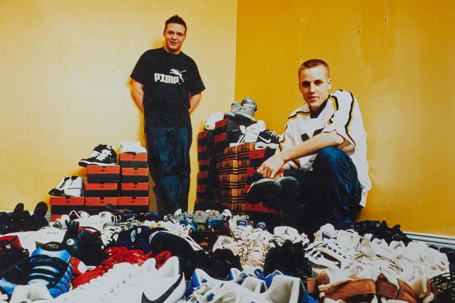 Erik Fagerlind et Peter Janson en 1999