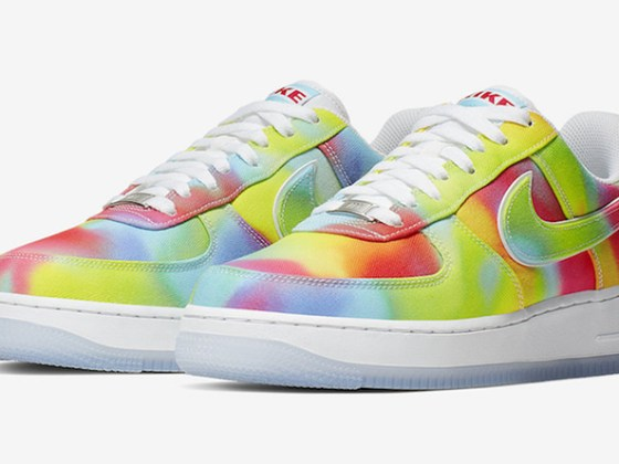 Nike Air Force 1 ''Tie and Dye'' ''Chicago''