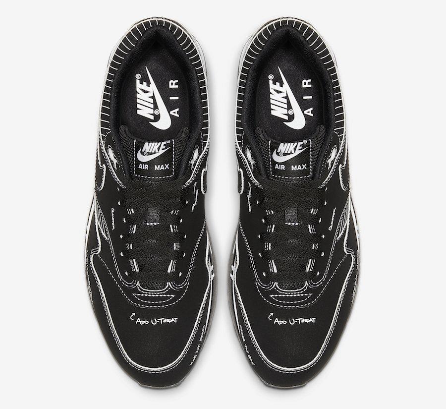 Nike Air Max 1 Tinker ''Schematic'' Black