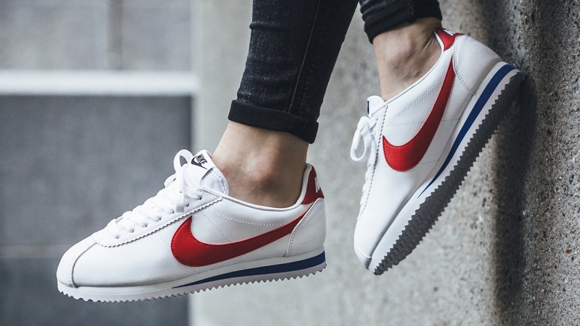 Nike Cortez OG - White/University Red