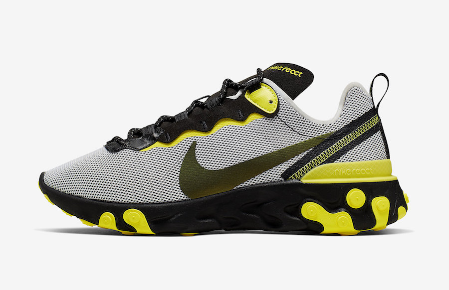 Nike React Element 55 ''Dynamic Yellow''