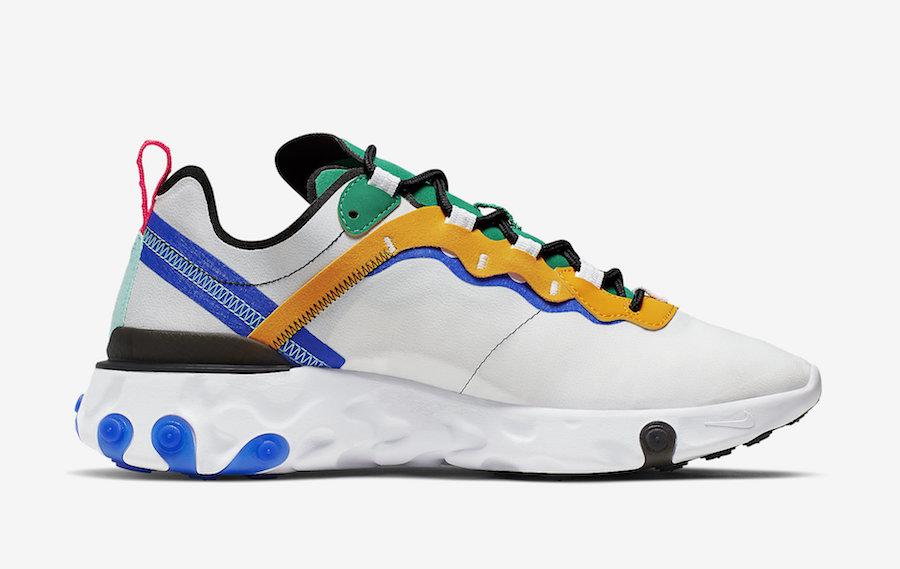 Nike React Element 55 ''Multicolor''