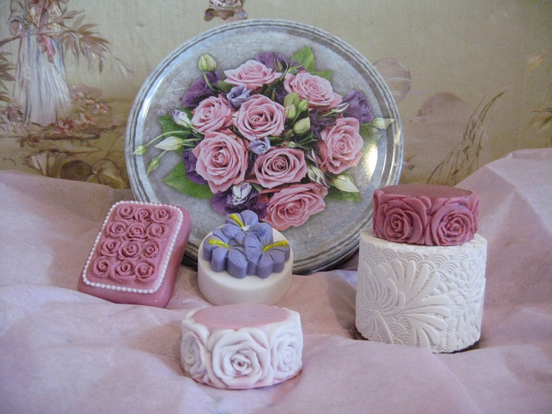 Perfumed and scented soap