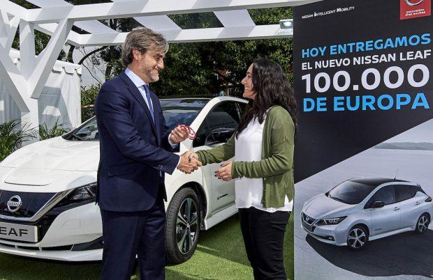 Nissan Leaf bereikt 100.000 leveringen in Europa