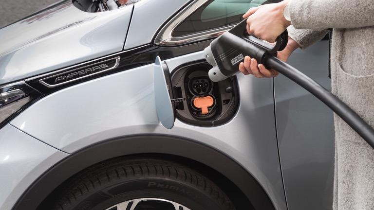 Wat is het maximale laadvermogen van een Opel Ampera-e?