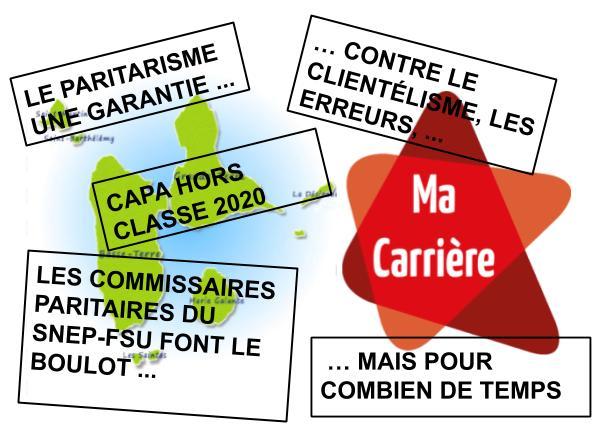 Déclaration SNEP-FSU CAPA Hors classe 2020