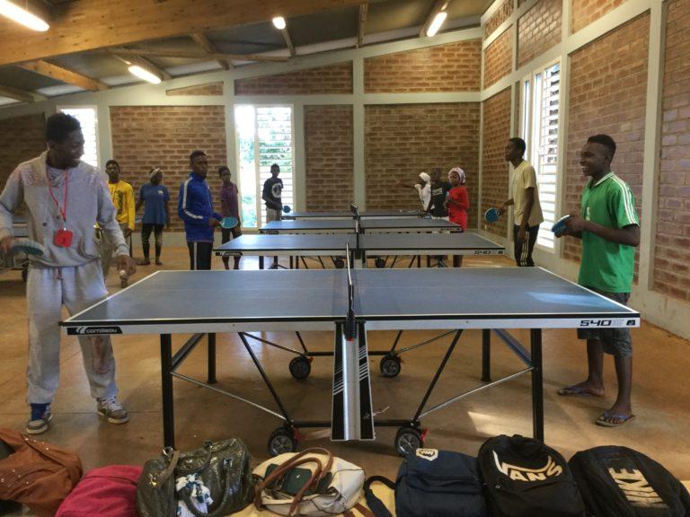 Tennis de table à Chiconi