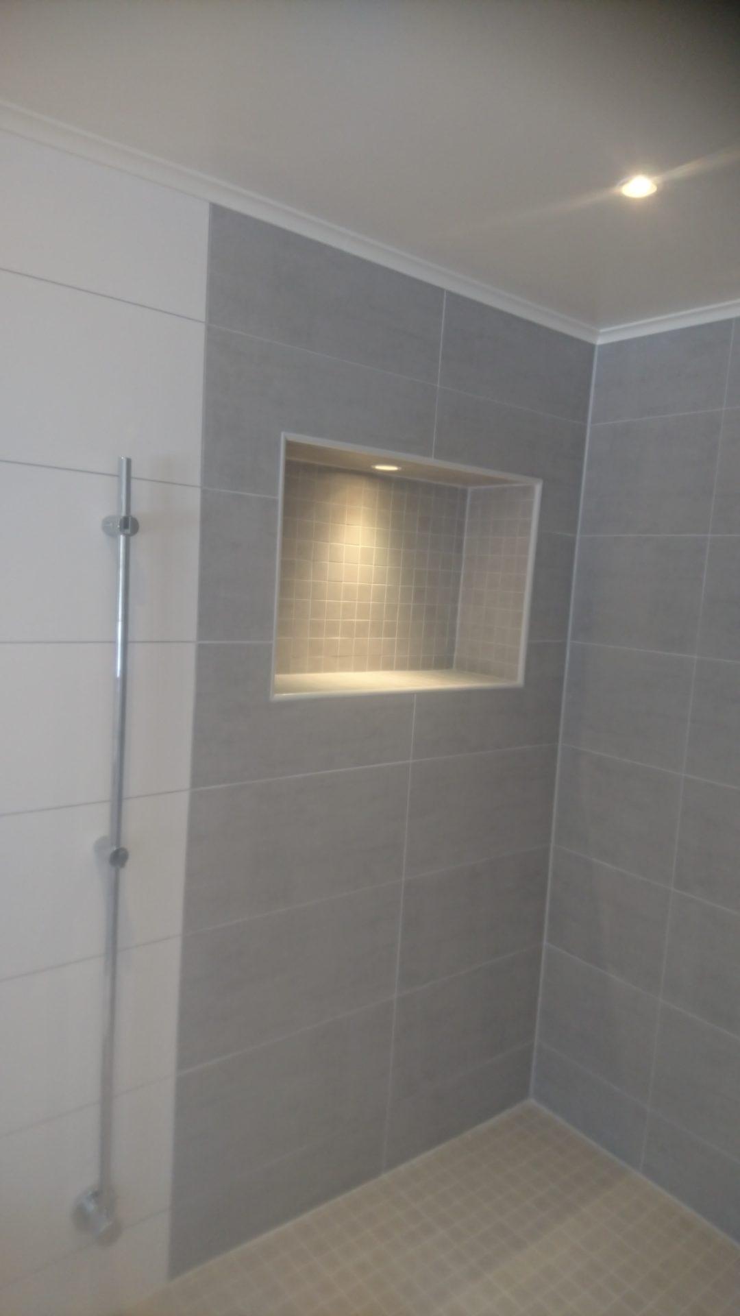 Nytt härligt badrum