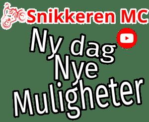 Snikkeren MC Sticker Ny dag, Nye muligheter