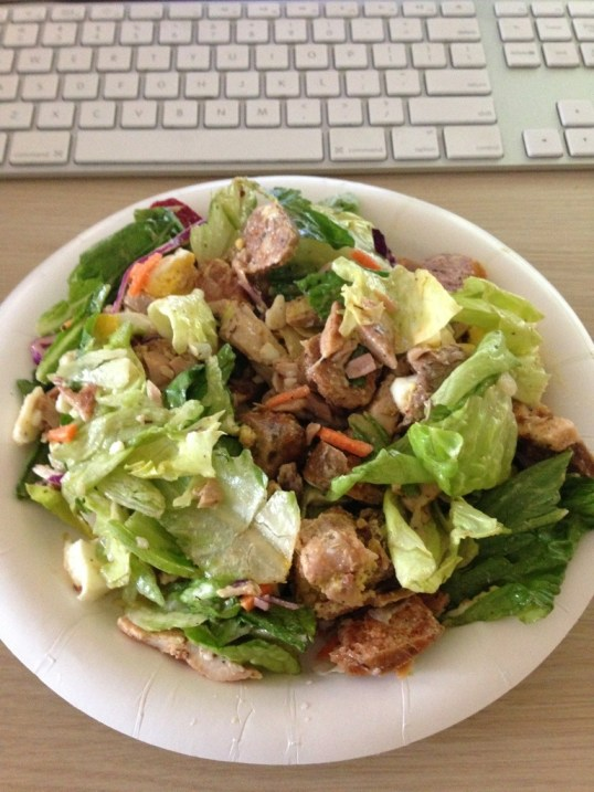 4 meat salad