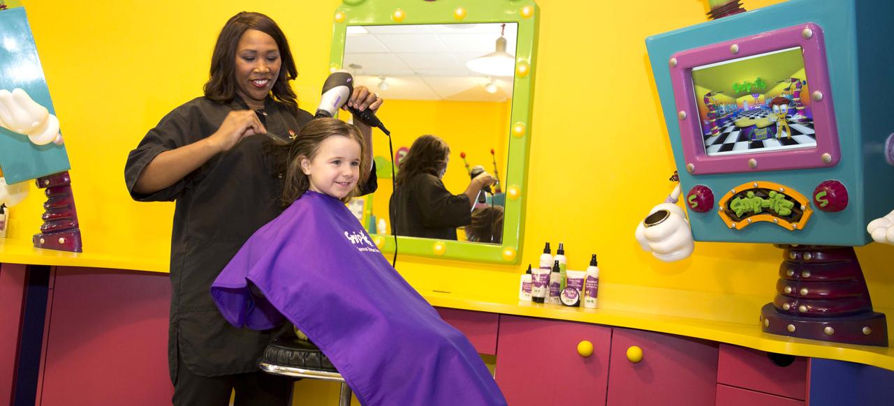 Kids Hair Salon Services Snip Its