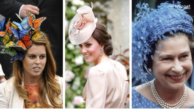 truly fascinating the best and the worst hats worn in british royal