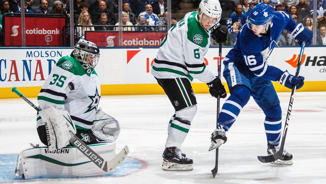 Leafs vs Stars