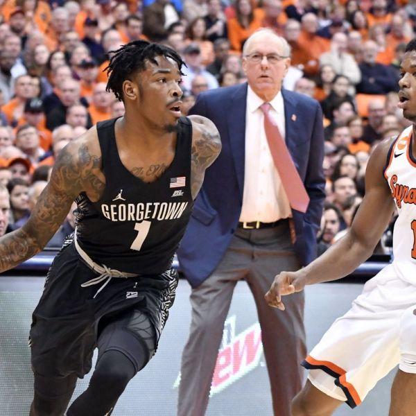 Georgetown vs. Syracuse