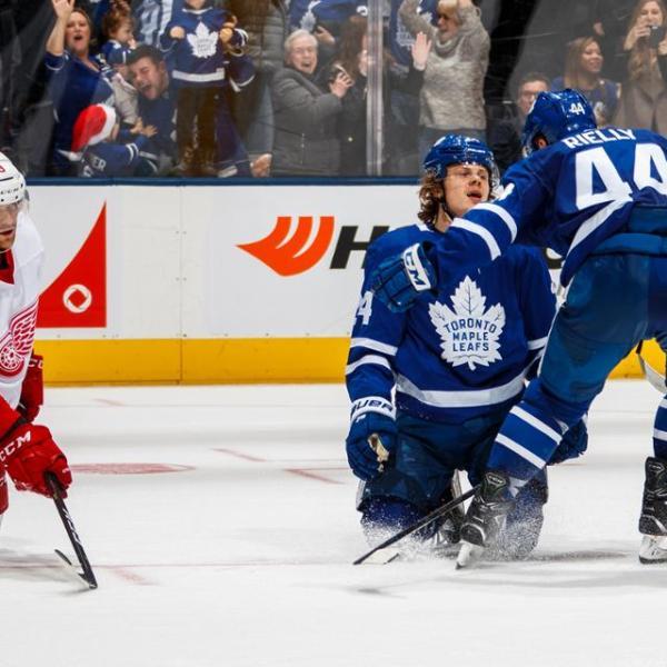 Maple Leafs vs Wings