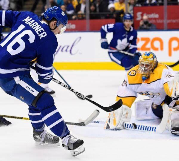 Predators vs Leafs