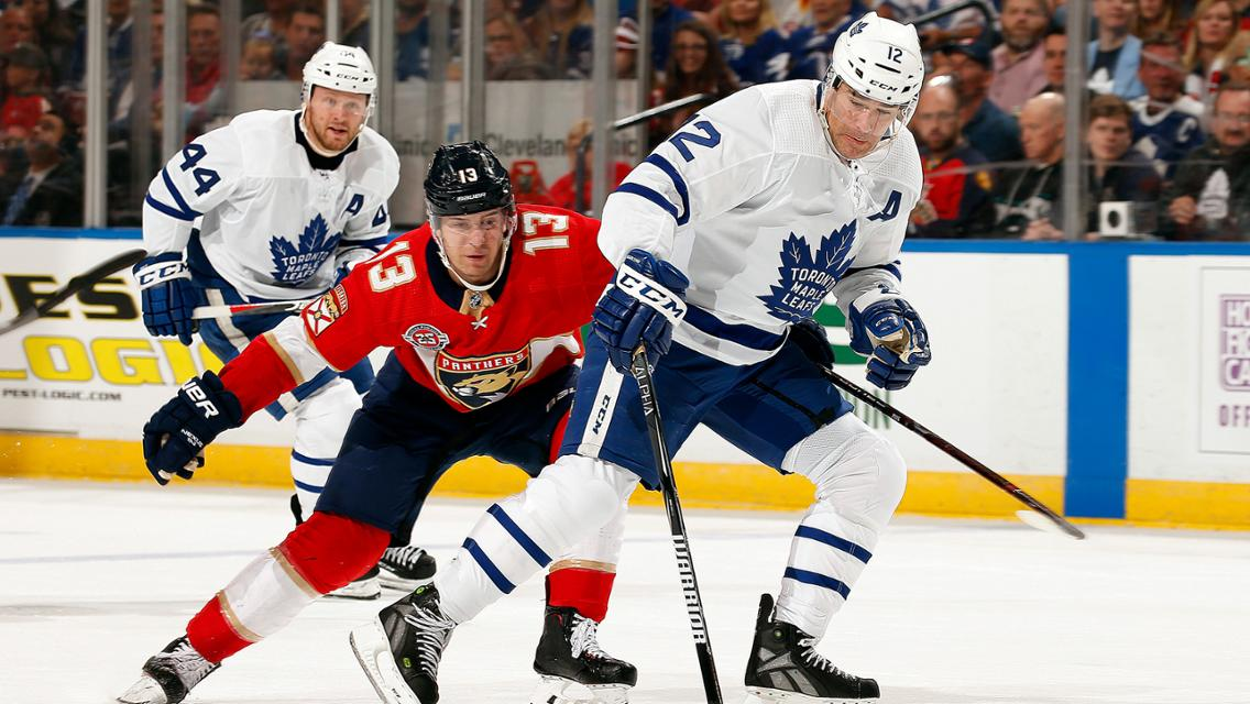Leafs vs Panthers 2