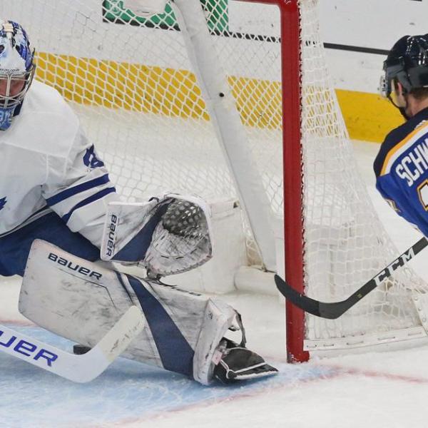 Leafs vs Blues